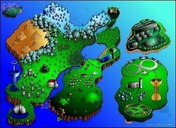 MegaMan RPG Map