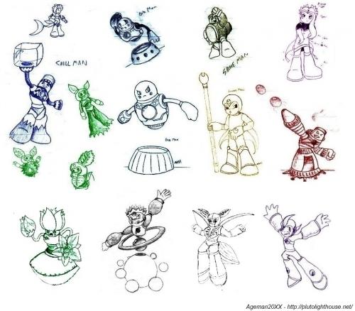 MegaMan 9 Doodles