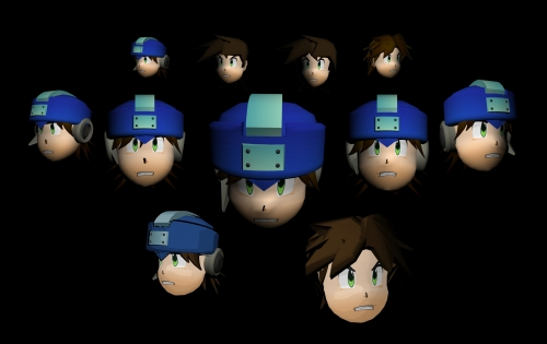 MegaMan Trigger Heads