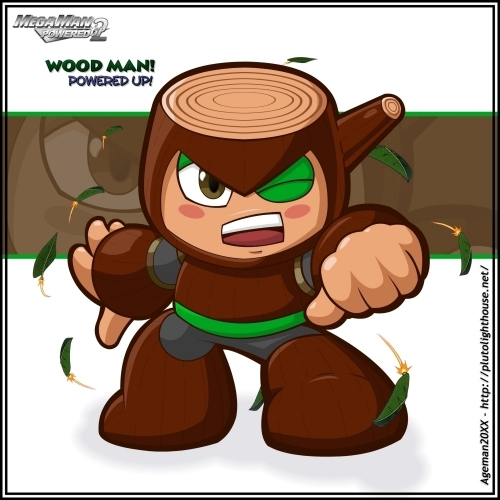 WoodMan : Powered Up!