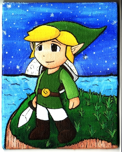 Link at the Moon