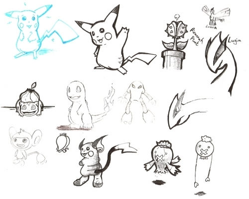 Pokemon Doodle Collection