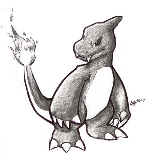 Charmeleon Sketch