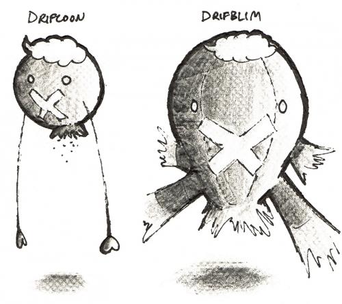 Drifters on a Napkin