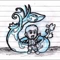 Ender's Serperior Doodle