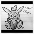 PokéDoodle : #650 Chespin